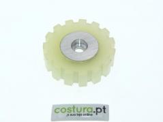 Roda de borracha dentada para puller ( 40x11 )