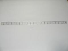Regua modelismo recta 120cm (milim)