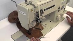 Maquina de costura triplo arrasto de duas agulhas Seiko LSWN-28BL-3