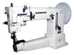 Maquina de costura Seiko CH-8B de 1 agulha, braço, para materiais Extra-Grossos, com lacadeira oscilante, braço longo de 40cmx20cm,