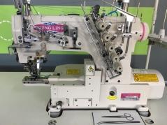Maquina de costura recobrimento braco estreitinho Shingling VG999ES 356/AST/TF/DS