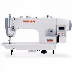 Maquina de costura Siruba DL7200-BM-16, com motor servo, corte de linha, remate auto e levantamento de calcador automatico