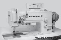 Maquina de costura Seiko BBW 8BLC-BTFL-CD-DS triplo arrasto, com corte de linha, remate de linha, duplo ponto e levantamento de calcador