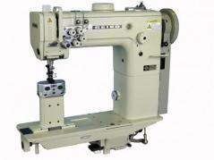 Maquina de costura triplo arrasto de coluna de 1 agulha Seiko BBWP-8BL-BTFL, com remate automático e levantamento de calcador