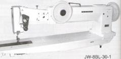 Maquina de costura triplo arrasto braço longo SEIKO  JW 8BL-20-1