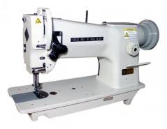 Maquina de costura triplo arrasto Seiko STH-8BLD-3, equipada com motor servo 750W