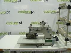 Maquina de costura Lingrai LR VC008-33048P/VPQ de 33 agulhas 3/16