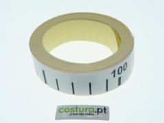 Fita metrica autocolante 100cm (Unid)