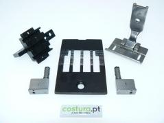 Transformação 2 agulhas 1polegada - 25.4mm Brother B875 (Co)