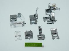 Conjunto de 7 calcadores maquinas domésticas