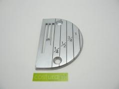 Chapa de agulha P.C. com furo de 3.3mm ( B33 )