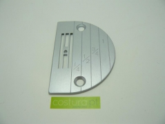 Chapa de agulha P/C furo 2mm (E20)