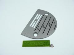 Chapa de agulha P/C furo 2.6mm (E26)