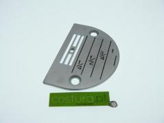 Chapa de agulha P/C furo 2.8mm (E28)