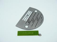 Chapa de agulha P/C furo 3mm (E30)