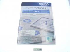 Upgrade para software bordado Brother Pe-Design de PE10 para PE11