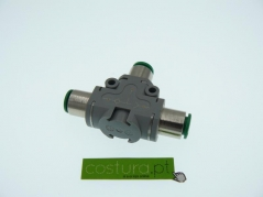 Válvula logica (OR) com record - 6mm pneumax