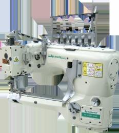 Maquina de costura Yamato FD62SD-07MS-1/WEDA, efka DC1500, Corte de cordao automático com fotocelula EFKA, programador V820