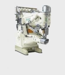 Maquina de costura Yamato VT2513-156m-34k/ut-a34/st2-a/y, com motor servo, tampo e bancada nacional