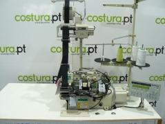 Maquina de costura Yamato AZ8451-Y5DF-10/K2MA, para aplicar elástico em punhos.