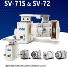 Motor direct drive ISM SV-72+SM7-6560-YM7B Yamato VG/VC/VF/VM-1800