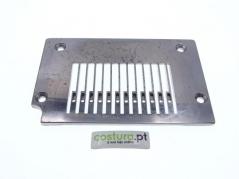 Chapa de agulha maquina de 12 agulhas 3/16 - 4.8mm kingtex (Org) = 5231TP0006