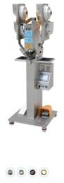 Maquina de meter molas automatica DS90 4K, para meter macho e femea, com motor servo e programador touch