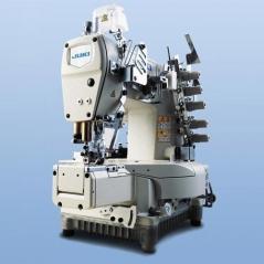 Maquina de costura JUKI MF7923-U11-B56/UT57-BB1-SC921BN-CP18B, com motor servo, bancada e tampo nacional
