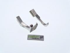 Conjunto de calcadores de triplo arrasto Juki DU-1181