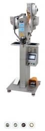Maquina de meter molas automatica DS90 3K, para meter macho e femea, com motor servo e programador touch