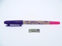Marcador duplo,10mm ,cor Rosa / Violeta