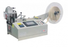 Maquina de cortar a quente e a frio Jema JM-120LR com ecrã touch e corte pneumatico, corte a direito