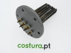 Falange com resistencia 3900w - 180mm de comprimento de resistencia 125mm de diametro 6 furos de 10mm cada COCCHI - BARBANTI
