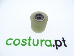 Roda de puller inferior para dispositivo automatico para esparguete com puller electrónico frontal