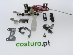 Conjunto de franzir para maquina de corte e cose Pegasus EX de 4 fios