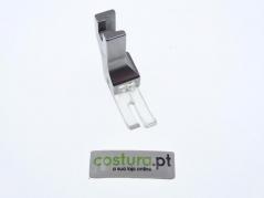Calcador compensador direito 1.6mm de ponto preso transparente Everpeak
