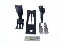 Transformação 2 agulhas 1/4 - 6.4mm Brother B845 (Co)
