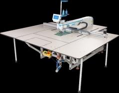 Maquina de costuras programáveis Jack MS-100A+95SYX-F11A-F13 com campo de 1400×950mm, corte por laser