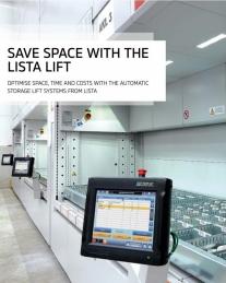 Sistema de armazenagem vertical Lista Lift